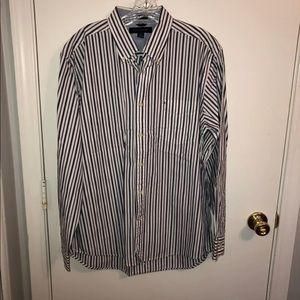 Men's Tommy Hilfiger Purple/Blue Shirt Large